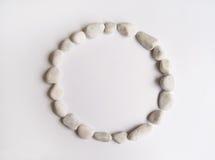 камушки рамки круглые Стоковые Изображения