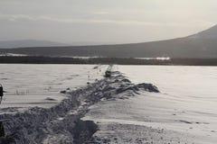 Камчатка, горы, тундра, зона Sobolewski Стоковые Изображения RF