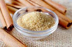 камышовый сахар Стоковые Фотографии RF