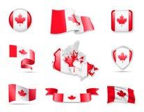 Канада сигнализирует собрание Стоковые Фотографии RF