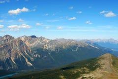 канадские горы утесистые Стоковое Изображение