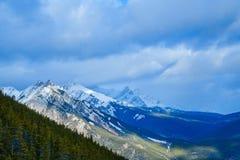 Канадские скалистые горы - Banff, Альберта, Канада Стоковая Фотография