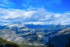 Канадские скалистые горы - Banff, Альберта, Канада Стоковое Фото