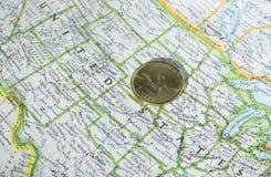канадский доллар Стоковое Фото