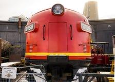 Канадский локомотив на музее стоковые изображения rf
