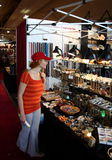 канадский соотечественник выставки стоковое изображение rf