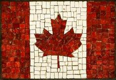 канадский флаг Стоковые Изображения