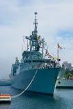 канадский фрегат стоковая фотография rf