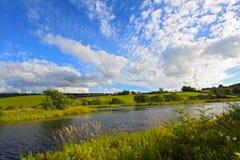 канала clyde лето вперед Стоковая Фотография RF