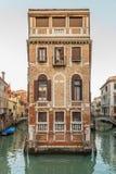 Каналы Венеции - Италии стоковое изображение