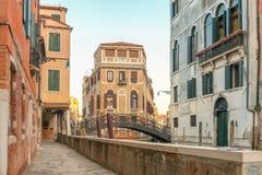Каналы Венеции - Италии стоковые фото