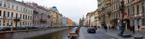 Каналы Санкт-Петербурга Стоковые Фотографии RF