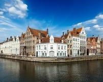 Каналы Bruges Стоковая Фотография