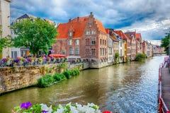 Каналы Gent стоковое изображение rf
