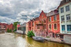 Каналы Gent стоковая фотография rf