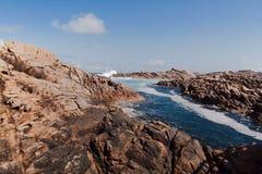 канал Австралии трясет западное yallingup Стоковое фото RF