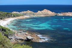канал Австралии трясет sw западный Стоковая Фотография RF