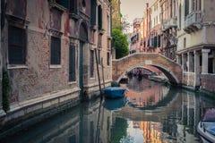 Канал Венеция Стоковое Фото