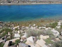 Канал водозабора от моря стоковые фотографии rf
