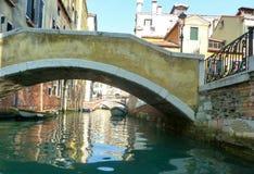 Канал воды в Венеции, Италии стоковое фото rf