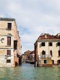 канал грандиозная Италия venice моста Стоковая Фотография RF