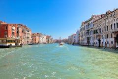канал грандиозная Италия venice Стоковые Изображения RF