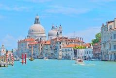 канал грандиозная Италия venice Стоковые Изображения