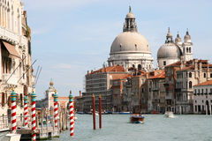 канал грандиозная Италия venice Стоковое Фото