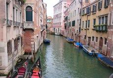 канал Италия venice Стоковое Фото