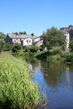 Канал Ланкастера, Freehold, Ланкастер, Англия Стоковое Изображение