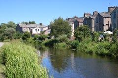 Канал Ланкастера, Freehold, Ланкастер, Англия Стоковая Фотография