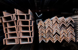 канал углов распределяет сталь u Стоковые Изображения RF