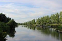 Канал Chambly стоковые фотографии rf