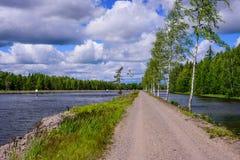Канал Saimaa стоковая фотография