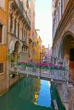 Канал Venise, Италия стоковые изображения rf