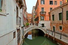 Канал Venise, Италия стоковое фото rf