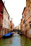 Канал Venise, Италия стоковые фото