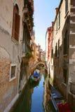 Канал Venise, Италия стоковые изображения
