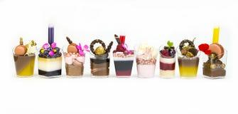 Канапе десерта Стоковое Изображение