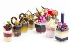 Канапе десерта Стоковая Фотография RF
