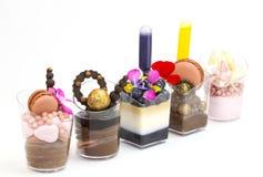 Канапе десерта Стоковое фото RF