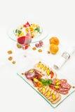 Канапе мяса Стоковая Фотография