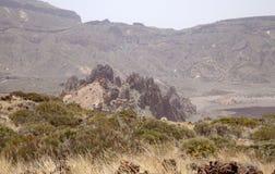 Канарские острова, Тенерифе, Roques de Garcia Стоковые Изображения RF