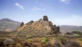 Канарские острова, Тенерифе, Roques de Garcia Стоковые Фотографии RF