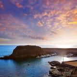 Канарские острова Фуэртевентуры порта El Cotillo Стоковое Изображение