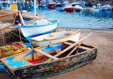 Канарские острова Фуэртевентуры порта El Cotillo Стоковые Изображения