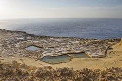 Канарские острова lanzarote готовят соль Испанию Стоковое фото RF