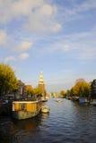 Канал Амстердама Стоковые Изображения