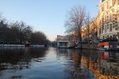 Канал Амстердама стоковая фотография
