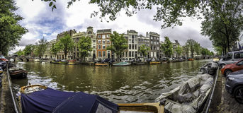 Канал Амстердам Стоковое Изображение RF